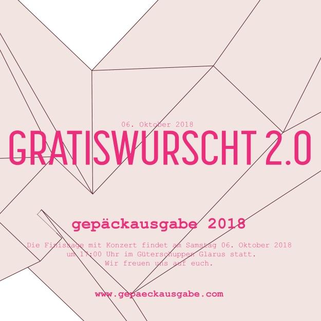 Gepäckausgabe 2018_gratiswurscht
